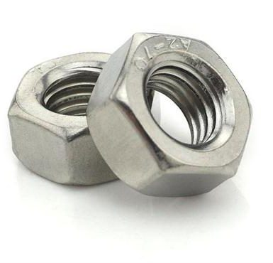 A2 70 hex nut din934 polish polish
