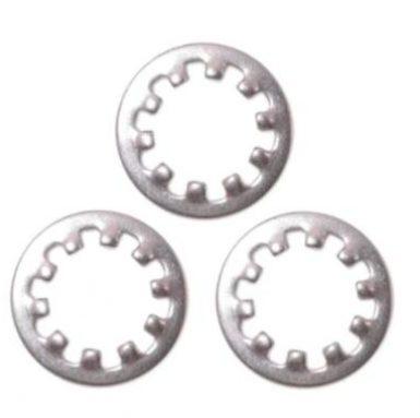 Bentuk bulat M5 hingga M20 Pencuci Kunci Gigi Dalaman