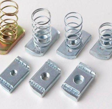 Kacamata keluli karbon spring berlapis zink
