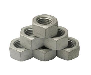 Hot hex galvainzed din934 hex nut A563